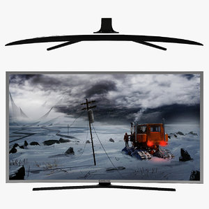 samsung smart tv ue40s9au 3D model