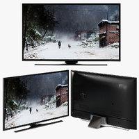 samsung smart tv uhdtv 3D model