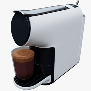 capsule coffee machine 3D model
