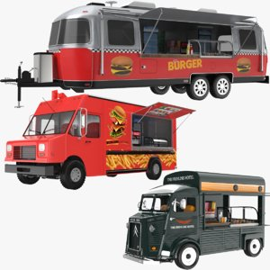 food trucks modeled model