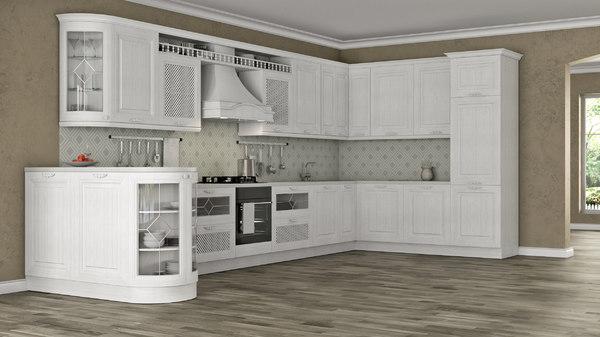 kitchen julia s 3D model
