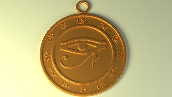 talisman eye ra horus model