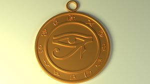 talisman eye ra horus model