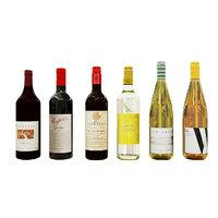 3D australian wine bottles model