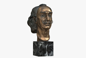 sculptural salvador dali 2 3D model