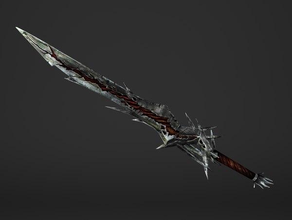 sword great 3D model