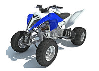 Yamaha Raptor Sport Racing Bike