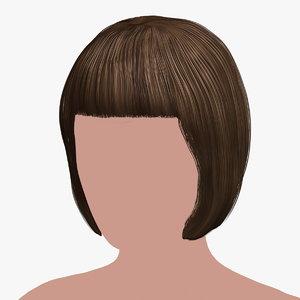 hairstyle 34 hair 3D