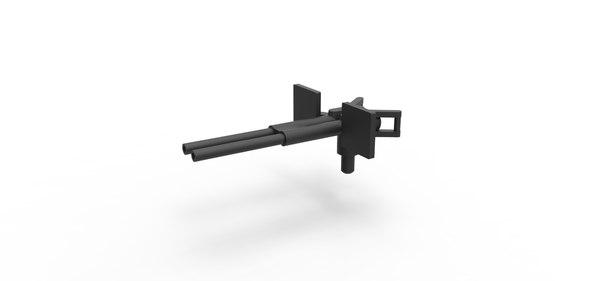 gun diecast 3D model