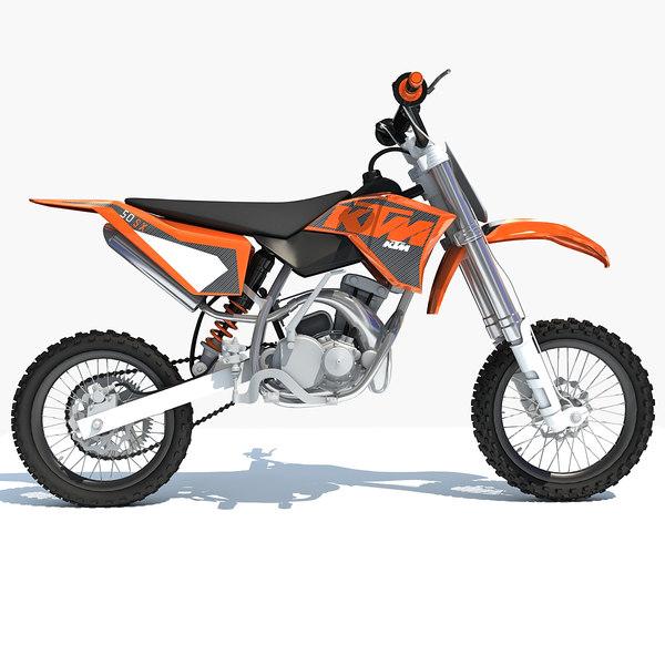 ktm motocross bike model