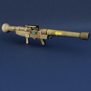 roket launcher 3D model
