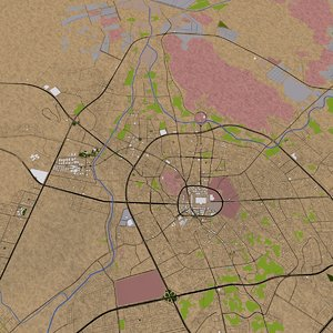 3D madinah roads