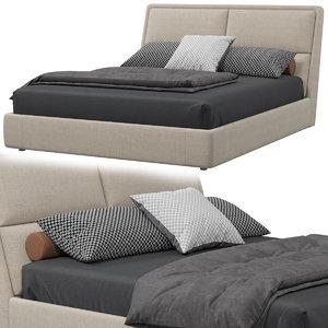 3D model twils james bed
