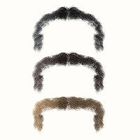 3D mustache model