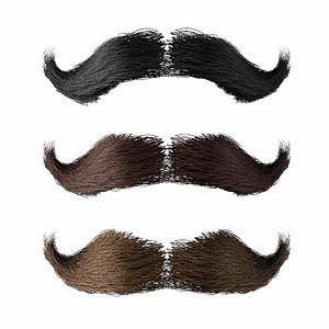 mustache 1 3D model