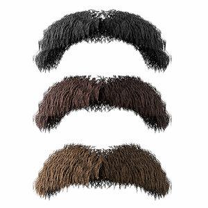 mustache model