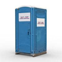 3D wc cabin