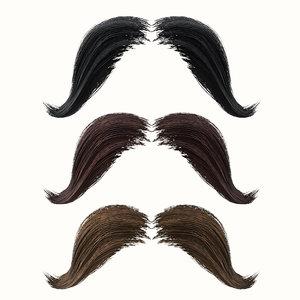 3D mustache 4 model