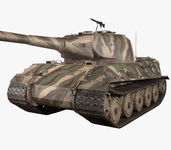 german panzer vii lowe model