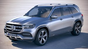 3D mercedes-benz gls basic