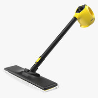 3D handheld karcher steam cleaner model