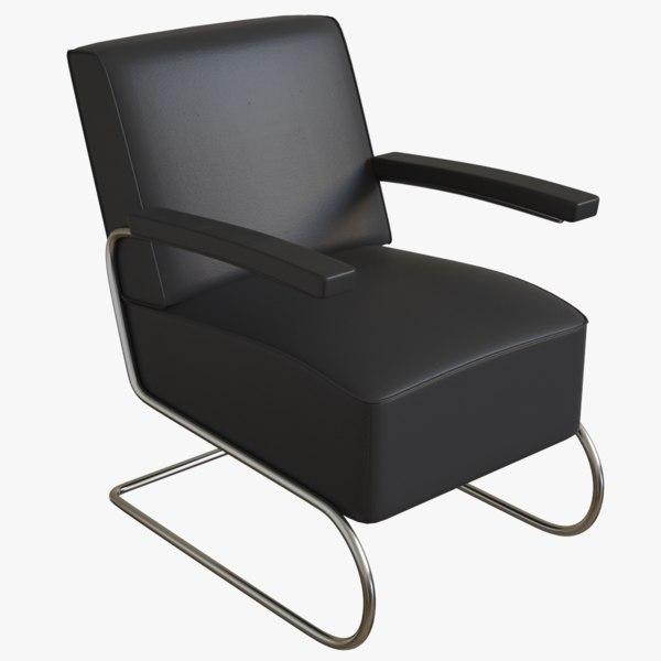 3D armchair pbr