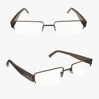 glasses reading 3D