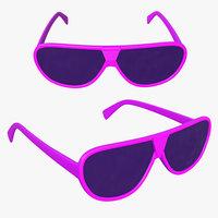sun glasses 3D