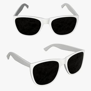 3D sun glasses model