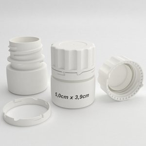 3D pills bottle type3