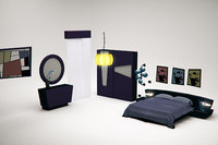 Cartoon Modern Bedroom Bundle
