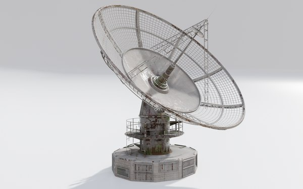 satelitte dish 3D