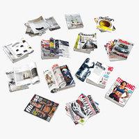 3D magazine open mix 01
