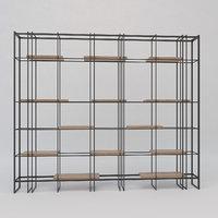 loft bookcase model