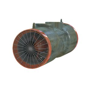 blower ventilates roads tunnels 3D model