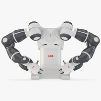 3D abb yumi industrial