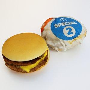 3D mc double package model