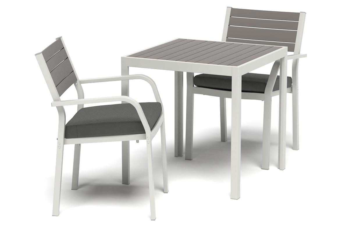 Pleasing Ikea Sjalland Table 2 Chairs W Armrest Grey Froson Duvholmen Unemploymentrelief Wooden Chair Designs For Living Room Unemploymentrelieforg
