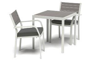 ikea sjalland outdoor table 3D model