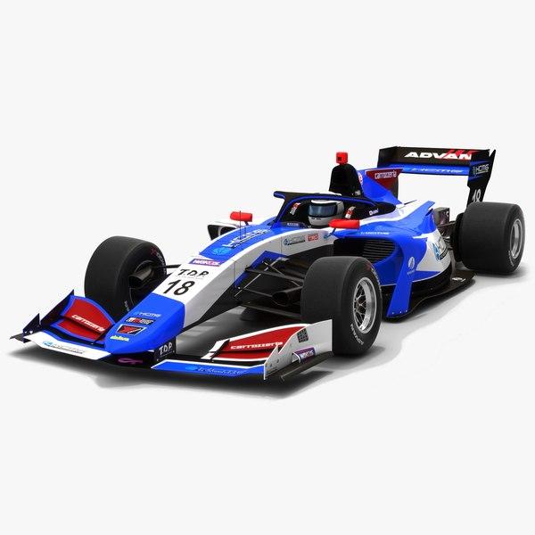 3D carrozzeria team kcmg 18