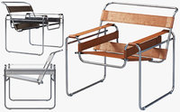 Wassily Chair by Marcel Breuer (4 options)