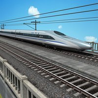 China High Speed Train  -  Harmony CRH380A