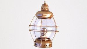 ship lantern lamp model