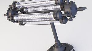 loft lamp steampunk model
