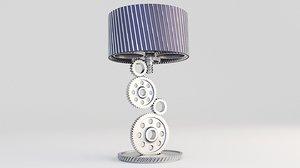 lamp gear table 3D model