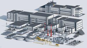 3D factory unit