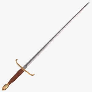 long sword 3D