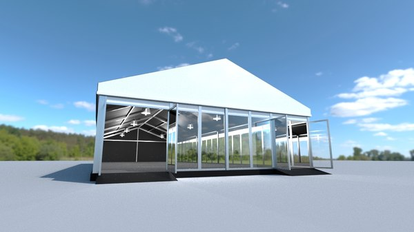 marquee tent 3D