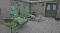 Blood transfusion station - hospital