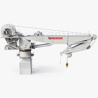 ship crane macgregor 3D model